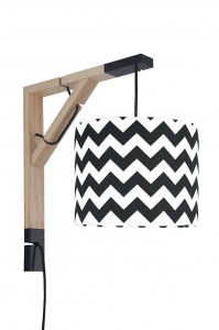 Lampa kinkiet Simple chevron