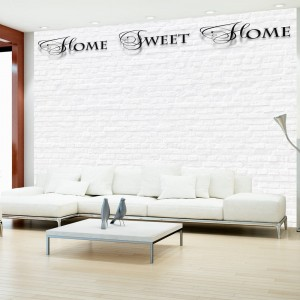 Fototapeta - Home, sweet home - white wall