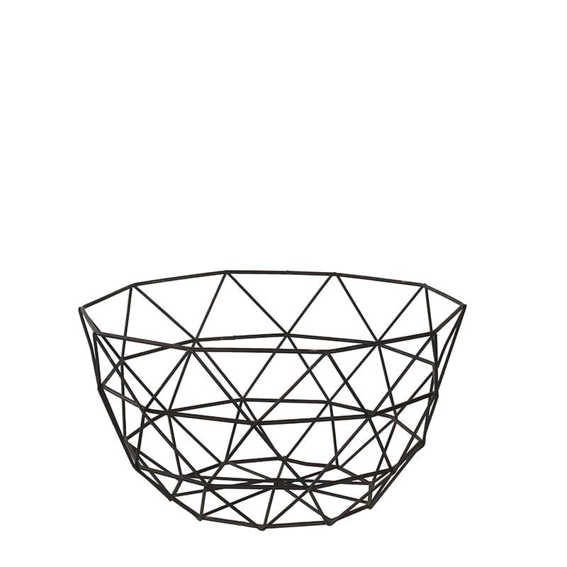 Niesamowite KOSZ koszyk METALOWY vintage na owoce LEVEN design for you UO48